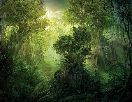 Llanowar Reborn by Philip Straub
