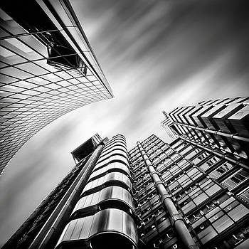 Lloyds London by Frank Waechter