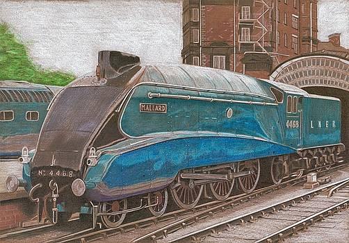 LNER A4 4468 Mallard by Oleg Kozelskiy
