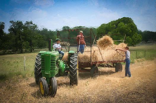 Loading the wheat    3204 by Fritz Ozuna