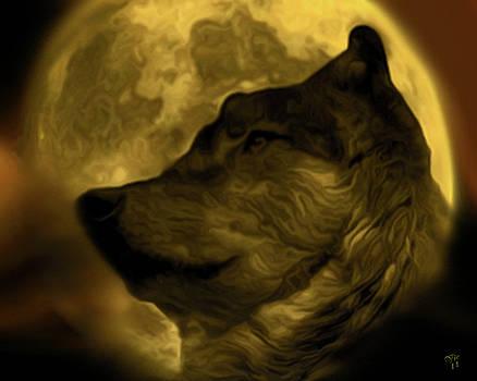 Lobo Moon by Vic Weiford
