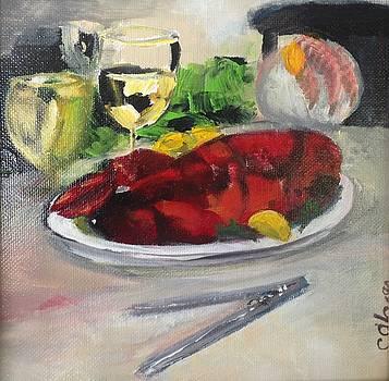 Lobstah Dinnah by Christina Glaser