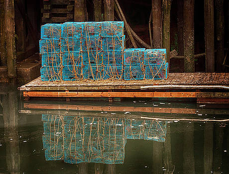 Lobster Traps by Mick Burkey