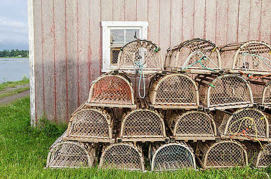 Lobster Traps, PEI by Rob Huntley