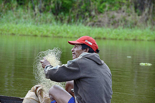 Harvey Barrison - Local Fisherman on the Marayali Cano