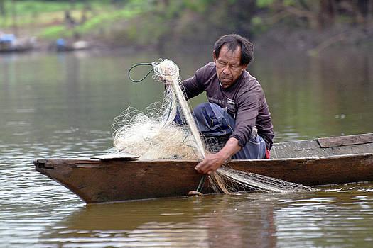 Harvey Barrison - Local Fisherman on the Rio Dorado