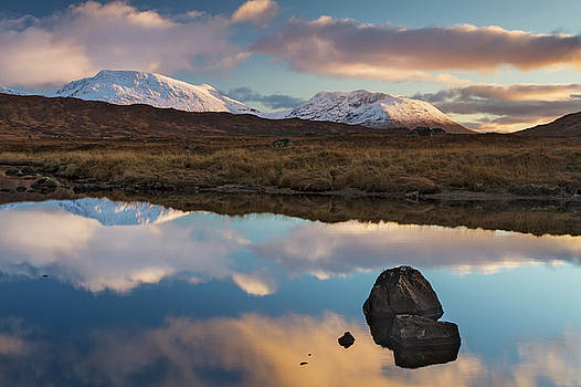 Loch Ba Sunset by David Taylor