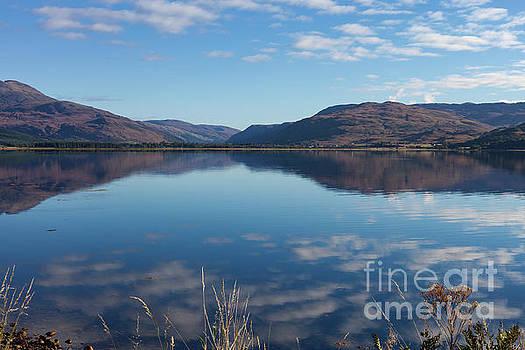 Loch Carron From Lochcarron by Diane Macdonald