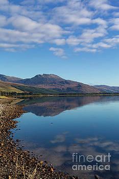 Loch Carron Skies by Diane Macdonald