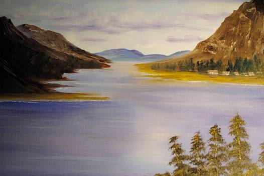 Loch Leven by James Higgins