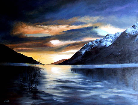 Loch Lochy Scotland by Jennifer  Blenkinsopp