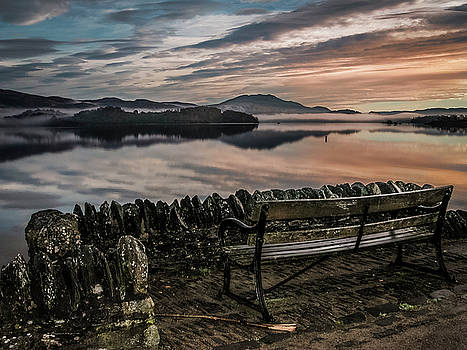 Loch Lomand Sunrise Scotland by Alex Saunders