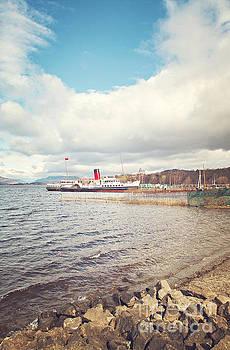 Sophie McAulay - Loch Lomond paddle steamer
