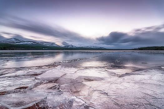 Loch Morlich Ice by Scott Masterton