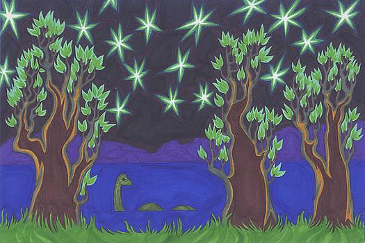 Loch Ness Night by James Davidson