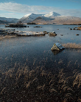 Lochan nah-Achlaise, Rannoch Moor, Scotland by David Stanley