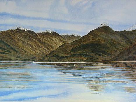 Lochleven at Glencoe by Fay Reid