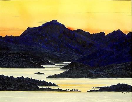 Lochlomond Sunset by Fay Reid