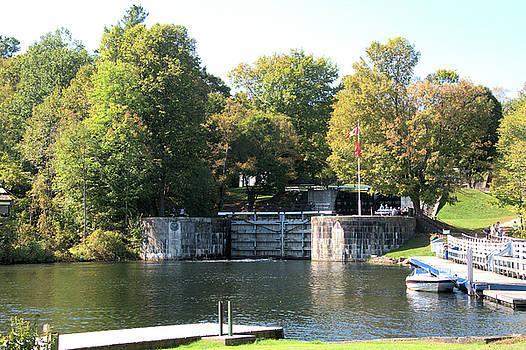 Valerie Kirkwood - Lock Gates at Jones Falls