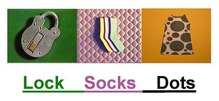 Lock Socks Dots by Paul Knotter