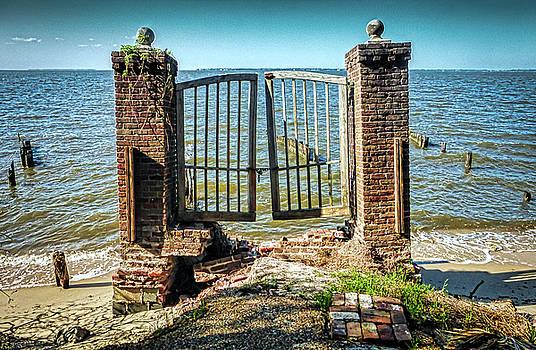 Locked Gate by Robert Meyerson