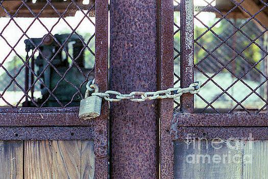 Locked Up Layers by Ana V Ramirez