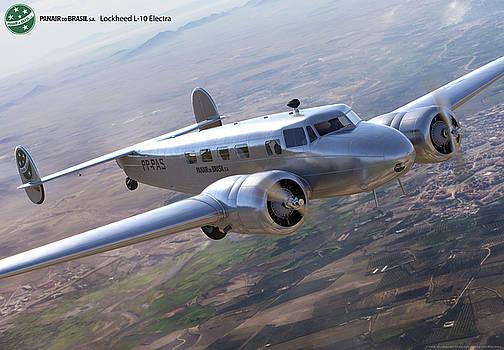 Lockheed Electra by Gino Marcomini