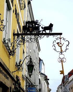 Locksmith Shop in Krems, Austria by Diana Plaisance