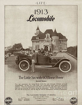 Locomobile Advertisement by Cole Thompson