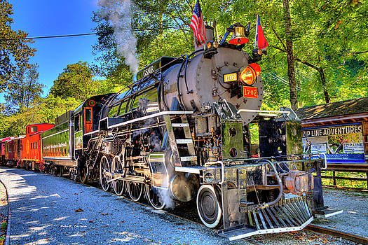 Locomotive 1702 by Bluemoonistic Images