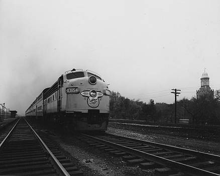 Chicago and North Western Historical Society - Locomotive 4085A on the Rails - 1959