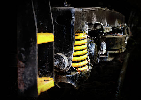 Locomotive Relic by Nick Bywater