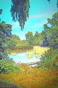 Joyce Dickens - Lodi Lake Watercolor