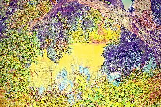 Joyce Dickens - Lodi Lake Watercolor Three