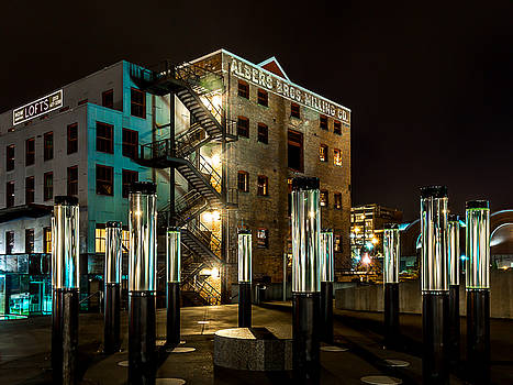 Lofts Overlooking Water Forest by Rob Green