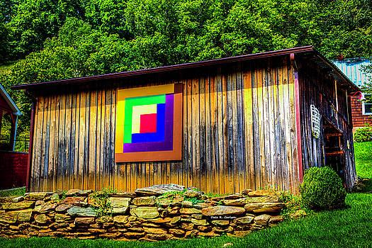 Log Cabin by Dale R Carlson
