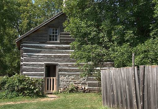 Valerie Kirkwood - Log House Back Door