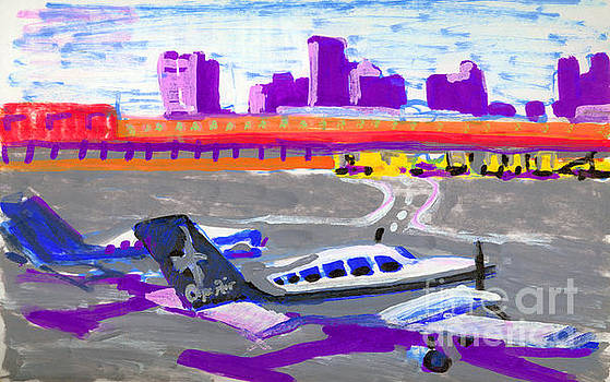 Logan Airport-Cape Air by Candace Lovely