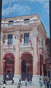 Loggia del Capitano House of Vicenza by Robert Keseru