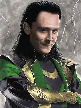 Loki Fanart by Jasmina Susak