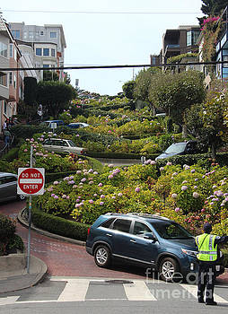 Lombard Street by Anthony Forster