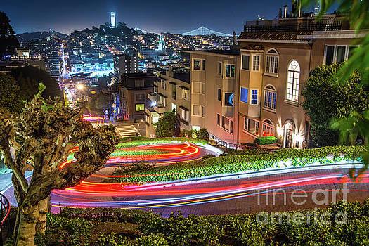 Lombard Street by Michael Tidwell
