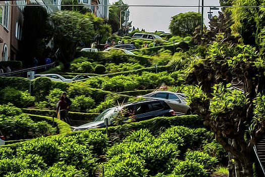 Lombard Street by Stuart Manning