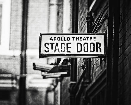 London Apollo Theatre in Black and White by Lisa Russo