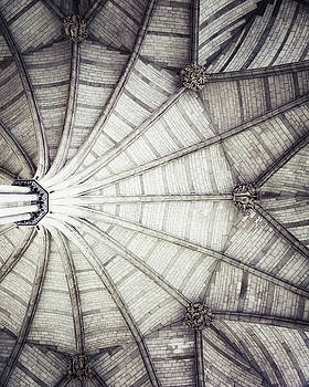 London Architecture - The Octagon Ceiling by Lisa Russo