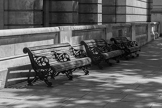 London Benches by MissElisabeth