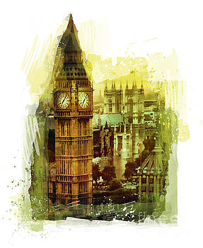 Justyna Jaszke JBJart - London - Big Ben