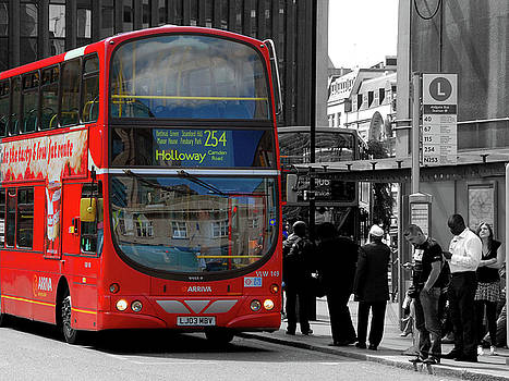 London Bus by Graham Taylor
