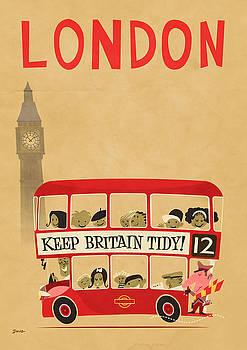 London by Bus by Daviz Industries
