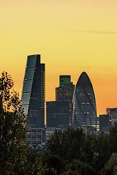 London City Sunset by Matt Malloy